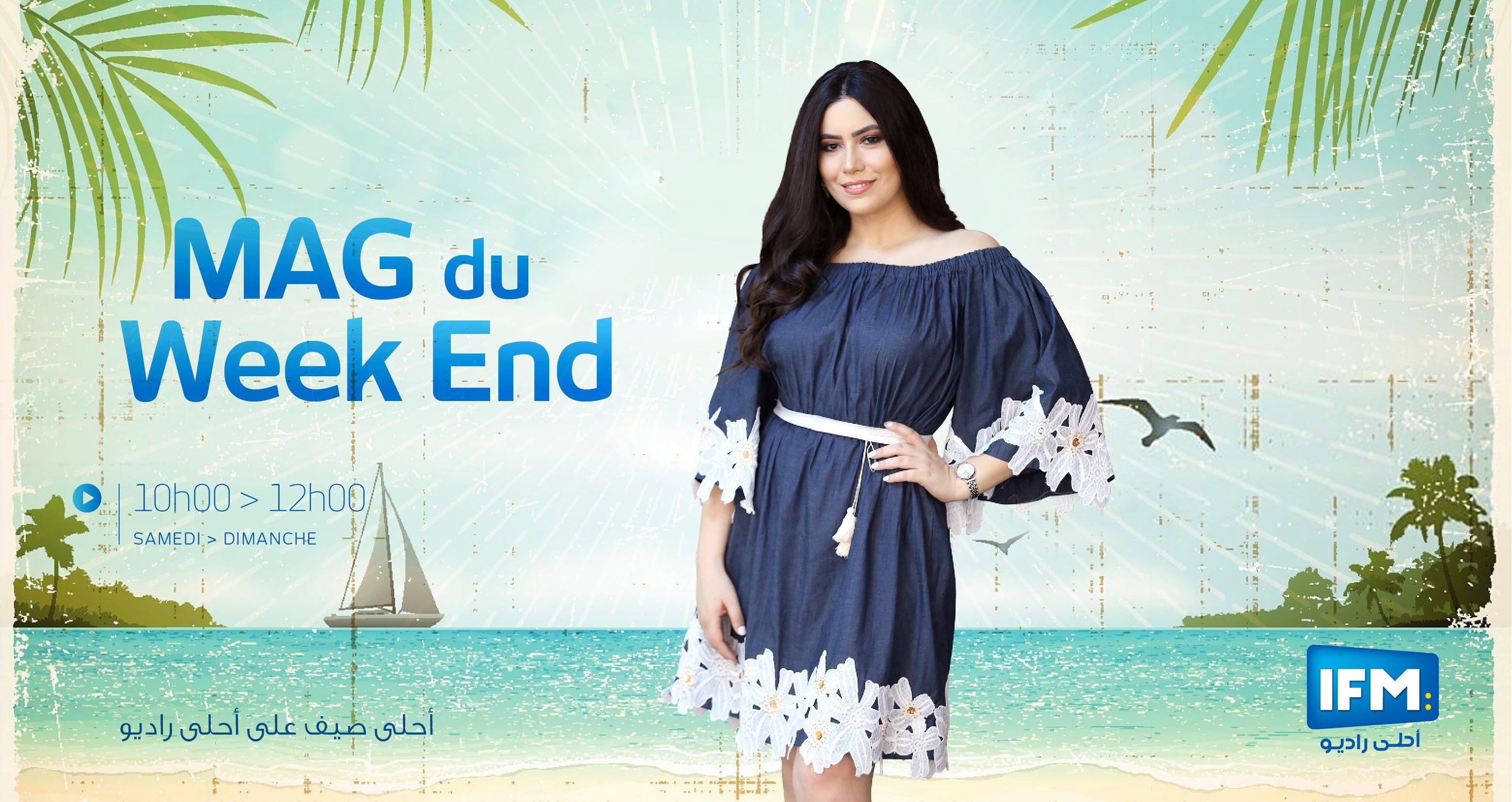 Mag du week-end Mag du week-End Dimanche 09 août 2020  avec khawla Khalssi