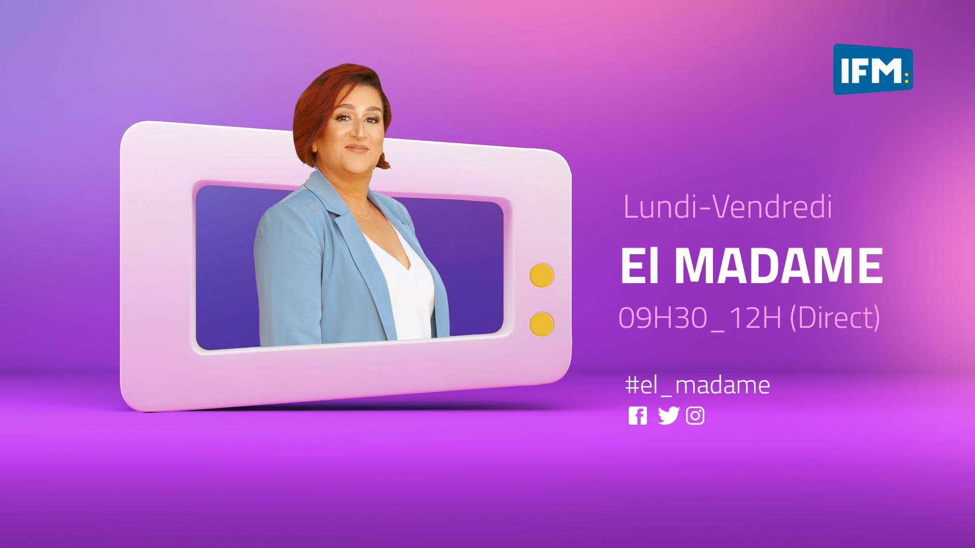 El Madame Wajiha El Madame : Le 13-10-2021