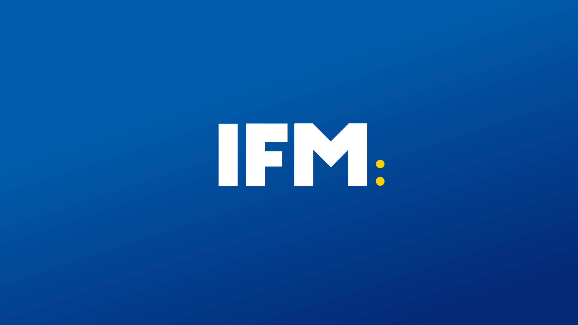 IFM ORIGINALS