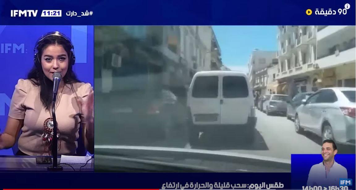 اختناق مروري بباب بحر في العاصمة في أول أيام الحجر الموجه