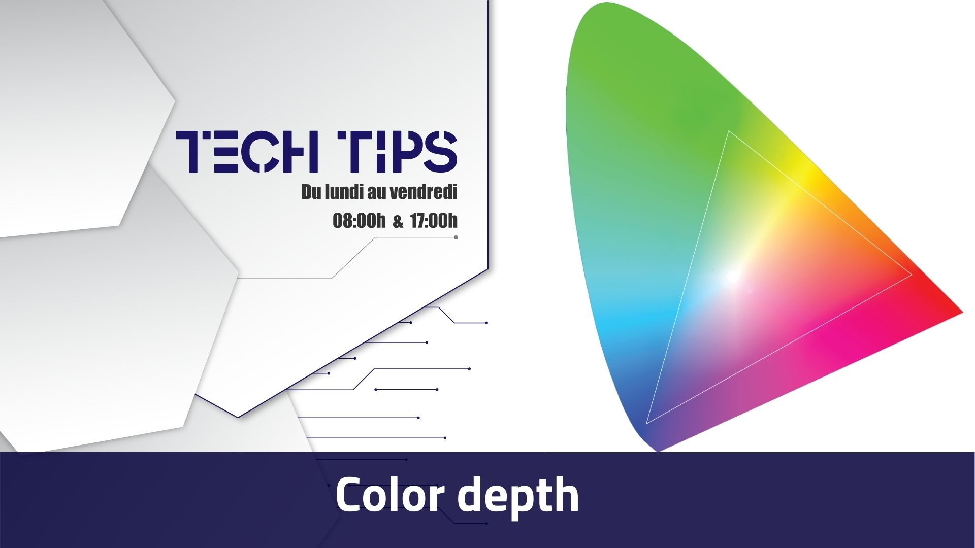 Tech Tips La profondeur des couleurs, là où les smartphones sont dépassés