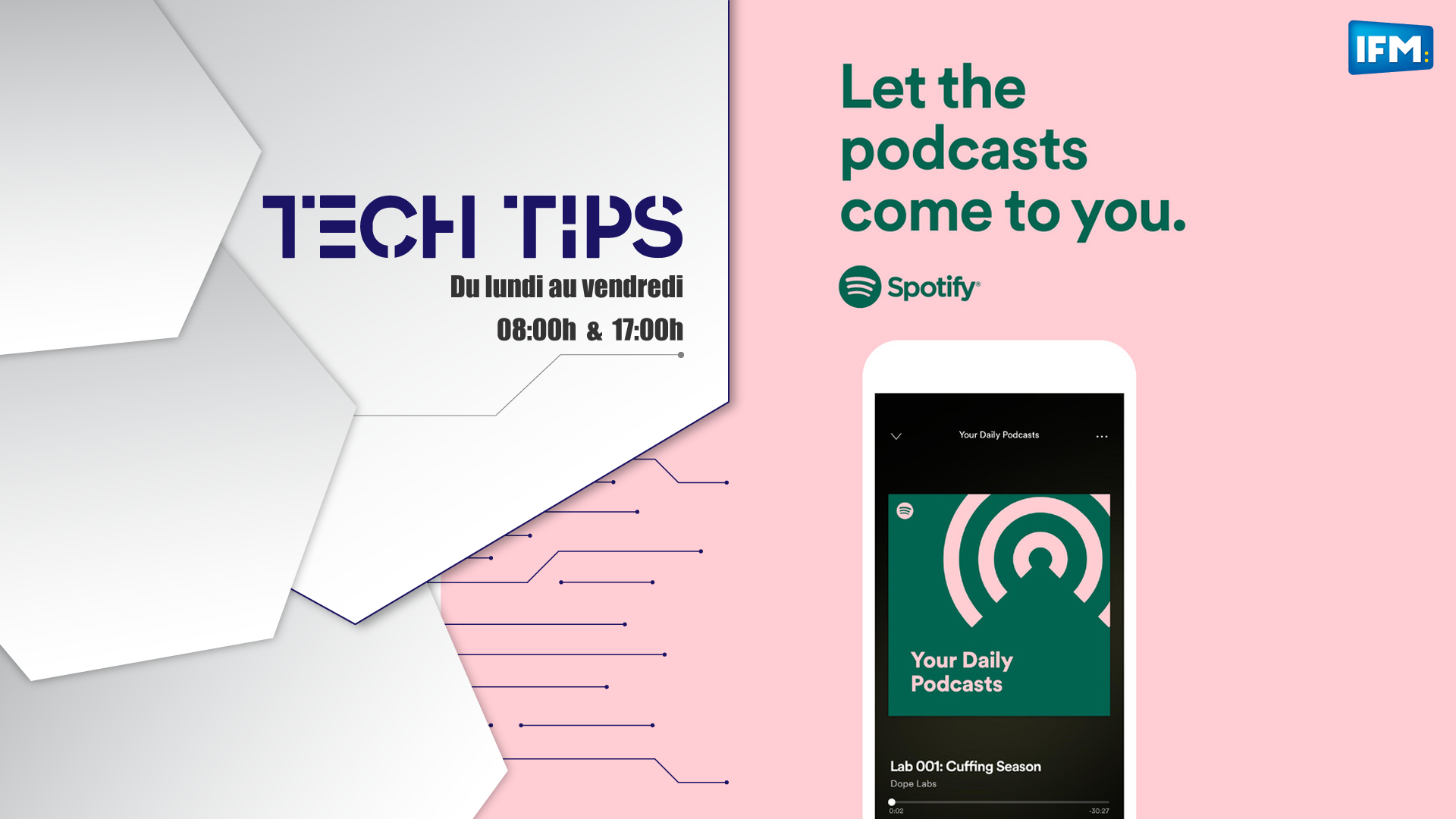 Tech Tips : Spotify podcasts, le nouveau format roi