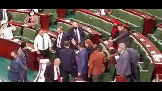 فوضى وتبادل شتائم في البرلمان بعد اتهامات بالكذب والتخابر بين سيف مخلوف وهيكل المكي