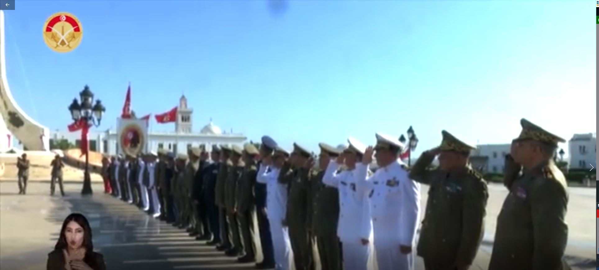 شريط وثائقي بمناسبة الذكرى 65 لانبعاث الجيش الوطني من إنجاز وزارة الدفاع الوطني