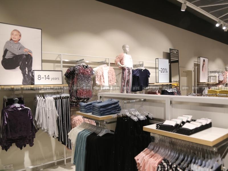 Inauguration du nouveau magasin LINDEX au nouveau Mall Azur City