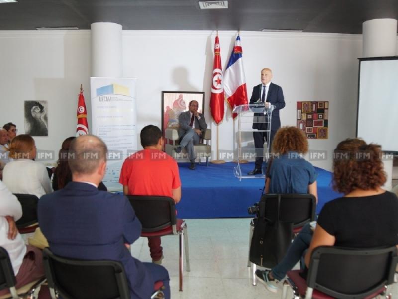 ندوة صحفية لاطلاق مشروع الجامعة الفرنسية التونسية لافريقيا والمتوسط