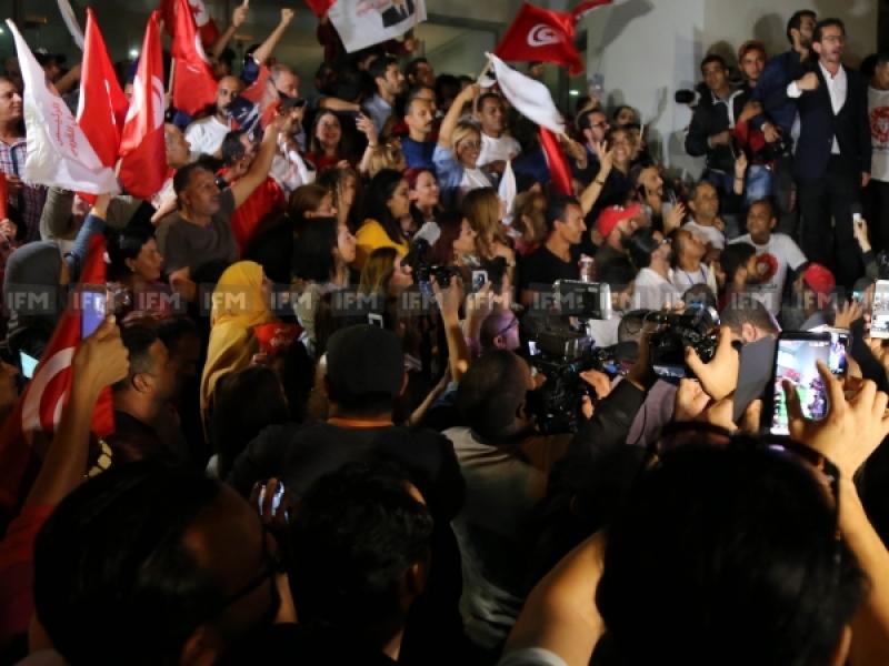 إطلاق سراح نبيل القروي من السجن وسط فرحة واحتفالات أنصاره