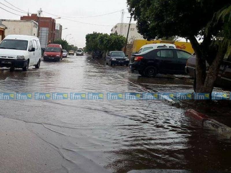 بن قردان: الأمطار تكشف رداءة البنية التحتية