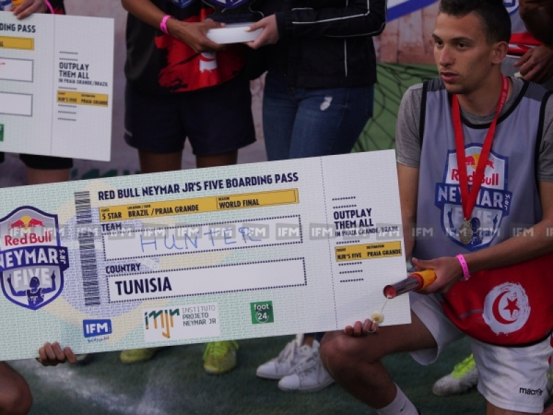 Final Tournoi Redbull Neymar jr's five