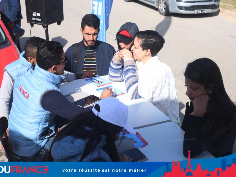 Caravane Edufrance Tour -3ème destination : Nabeul Vous désirez étudier en France ? et vous ne savez pas comment faire ? par où commencer ?