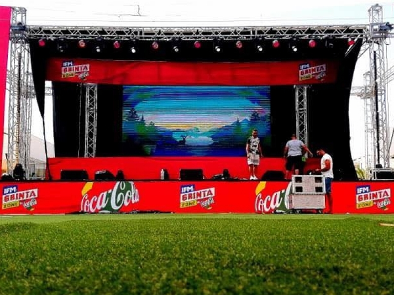 IFM Grinta zone by #cocacola lac 1    #IFM #foot #équipe_nationale #caire #Can2019