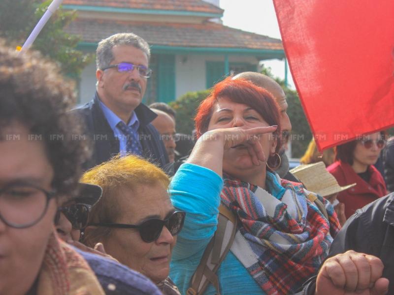 تونس تشيع الناشطة الحقوقية لينا بن مهني إلى مثواها الأخير