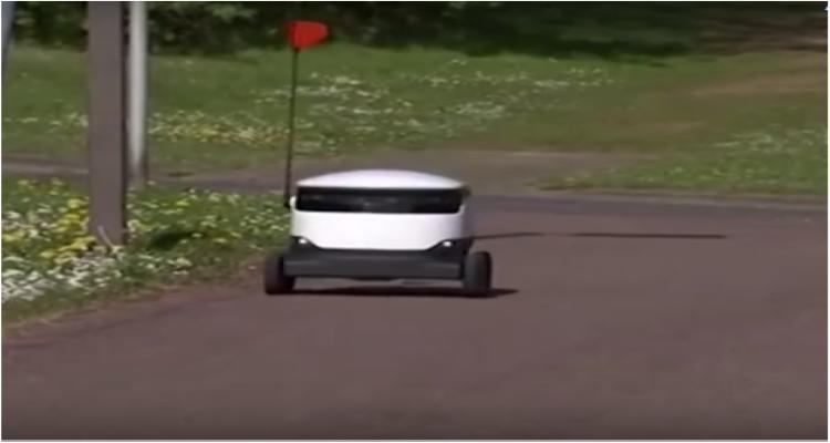 روبوتات تتسوق  في بريطانيا