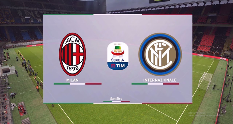 Milan - Inter ce samedi, sur PES