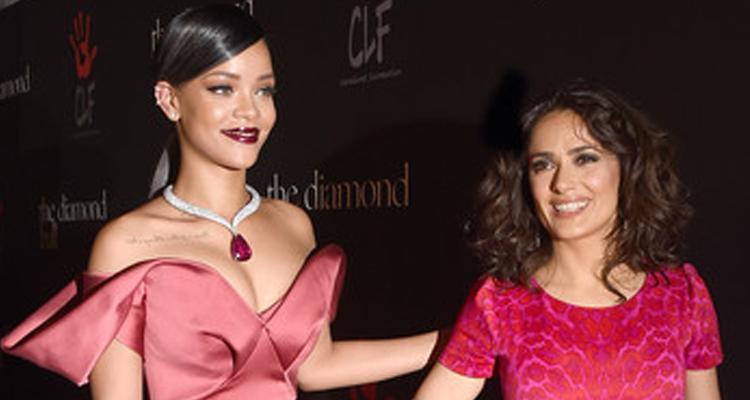 Rihanna et Salma Hayek plus riches que la reine d'Angleterre