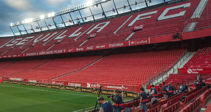 Espagne: retour réussi pour la Liga à Séville