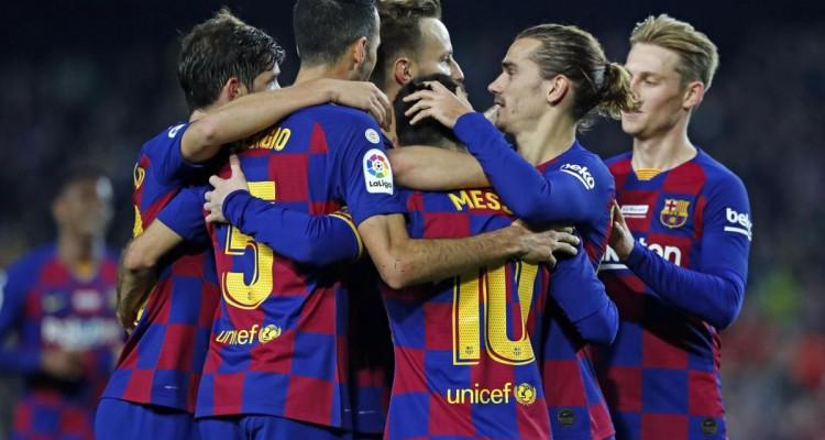 Coronavirus : 5 joueurs de la Barça positifs