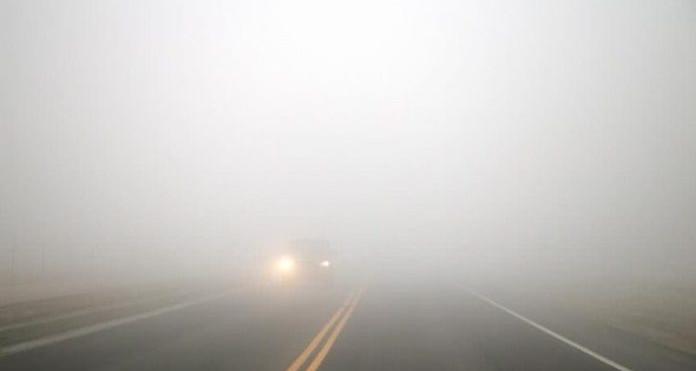 Alerte contre le brouillard au niveau de l'autoroute A1