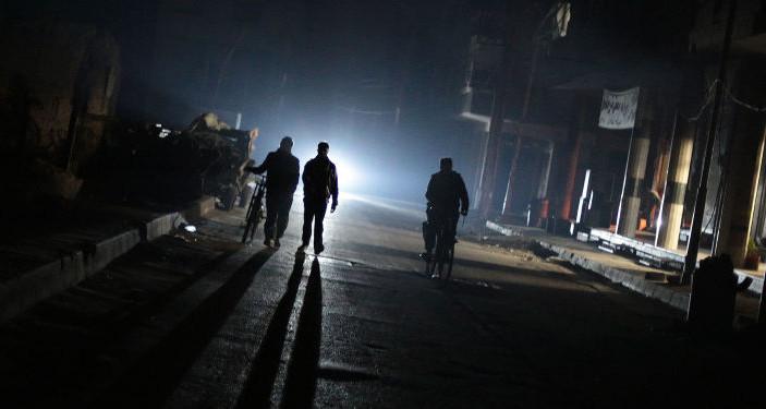 La Syrie plongée dans le noir