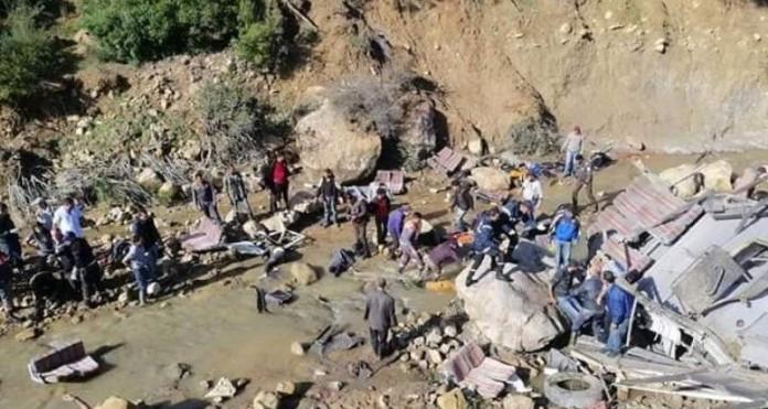 Béja : un accident de la route à fait 5 morts et 3 blessés