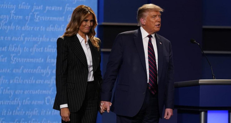 Donald Trump et son épouse Melania testés positifs au Covid-19