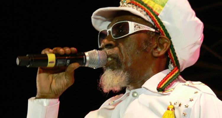 Le chanteur jamaîcain Bunny Wailer