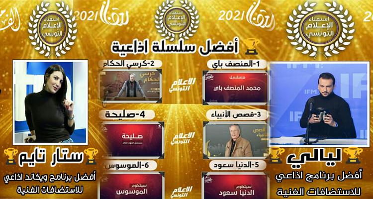 اذاعة  IFM  تتألق في استفتاء الإعلام التونسي للبرامج الرمضانية