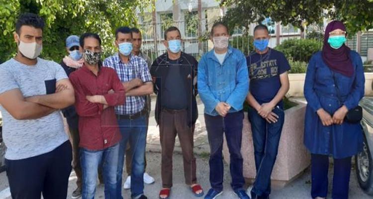 عمال المقاهي في سليانة ينفّذون وقفة احتجاجية