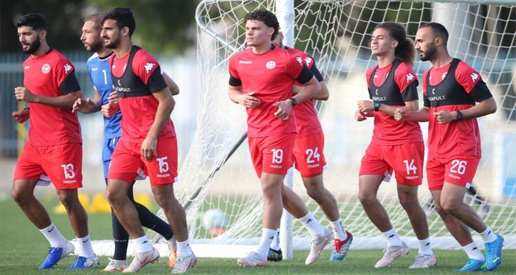 بحضور 14 لاعبا: المنتخب التونسي لكرة القدم  ينطلق في تربصه المفتوح