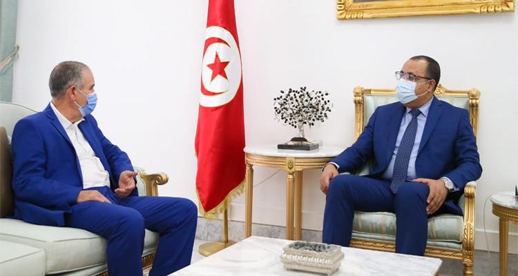 رئيس الحكومة يلتقي الأمين العام للاتحاد العام التونسي للشغل