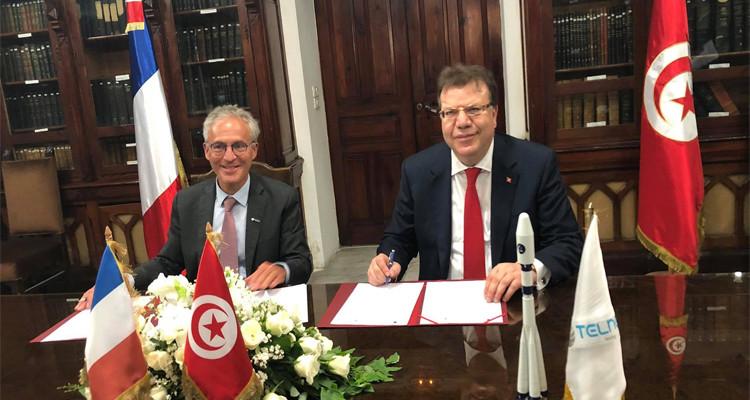 اتفاقية شراكة بين تلنات وشركة HEMERIA المختصة في الصناعات العسكرية والفضائية