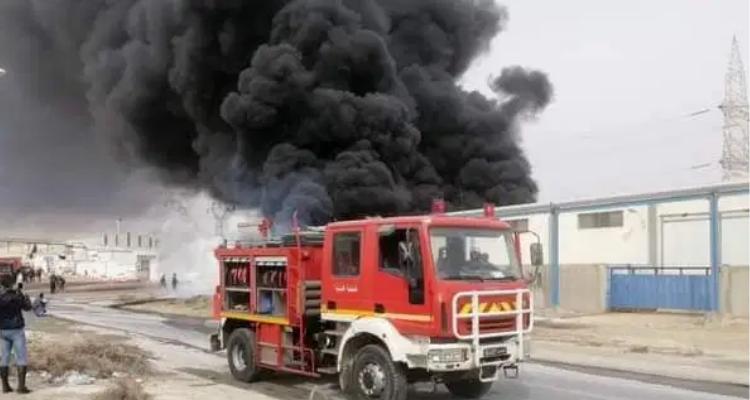 العاصمة:  نشوب حريق بمصنع التبغ والوقيد بالوردية
