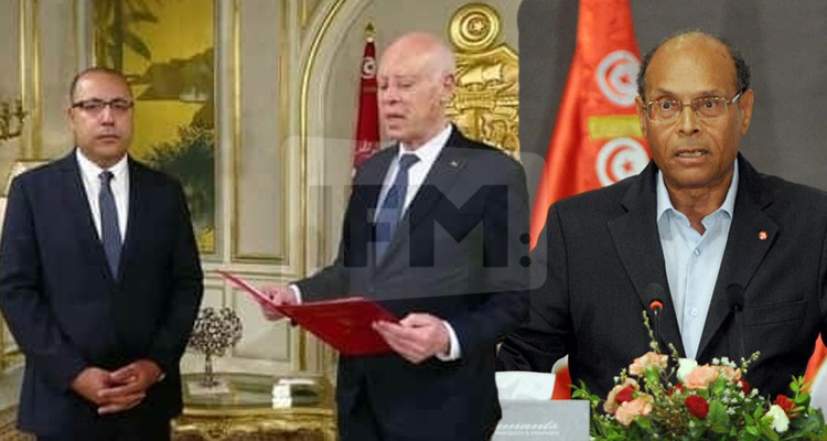 المرزوقي يحمّل رئيسي الجمهورية والحكومة مسؤولية سوء إدارة الأزمة الصحيّة