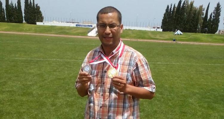 الحبيب شمسة  جامعة رياضة المعوقين الألعاب البرالمبية
