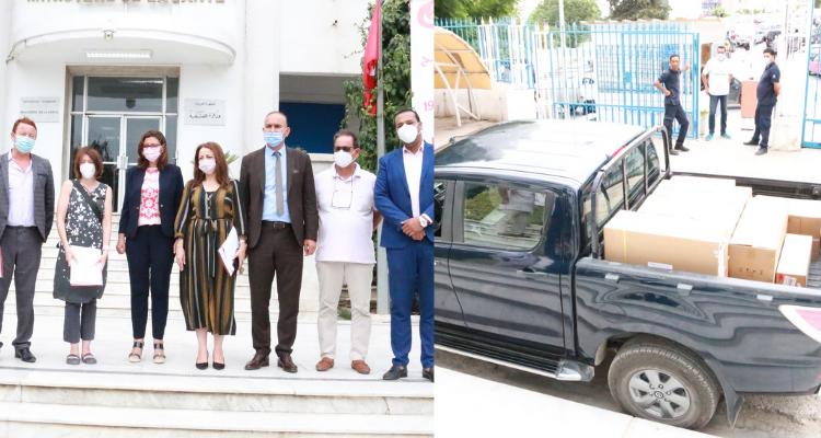 ألمانيا تسلّم تونس دفعة أولى من  أجهزة شاشات لمراقبة مرضى كوفيد19