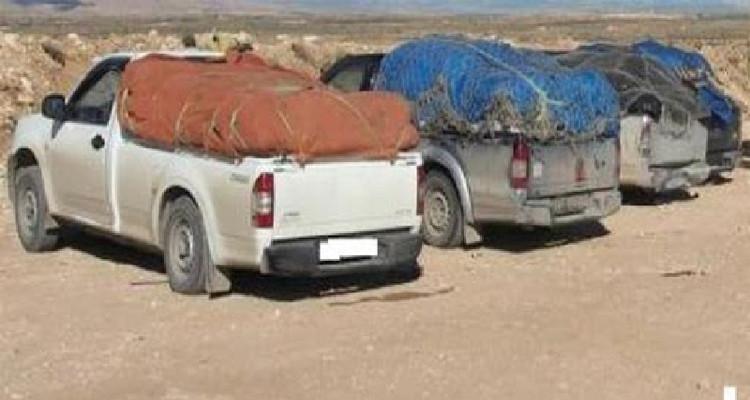بين القيروان والقصرين: حجز بضاعة مهربة  بقيمة جملية  325 ألف دينار