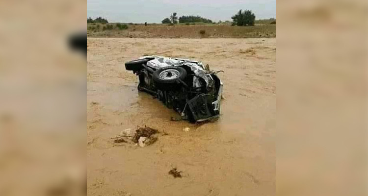الحماية المدنية: وفاة 3 شبان جراء الأمطار اليوم