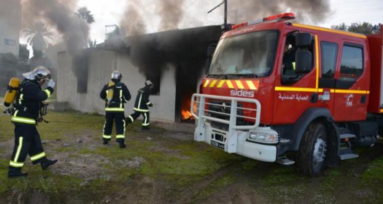 Protection civile : intervention sur 117 incendies en un seul jour !
