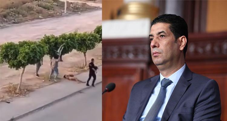 Tarek Ftiti s'indigne du comportement policier à Sidi Hsin