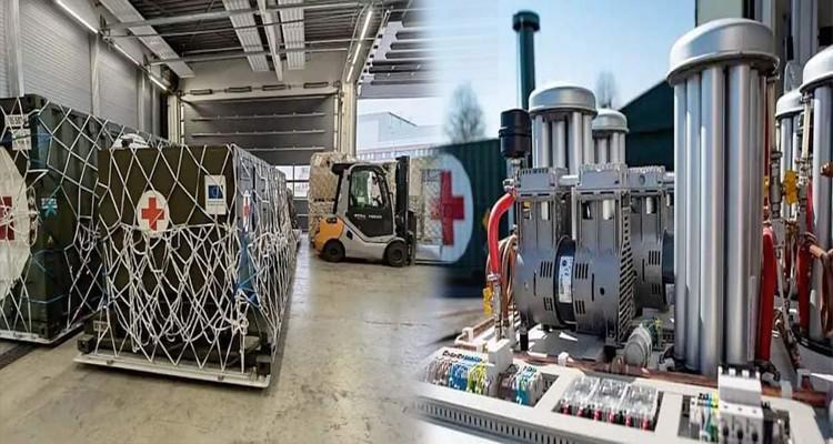 L'Allemagne fait don à la Tunisie de stations de production d'oxygène