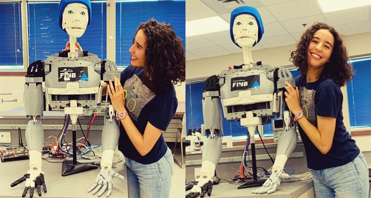 Une étudiante tunisienne parvient à concevoir un robot pour personnes âgées