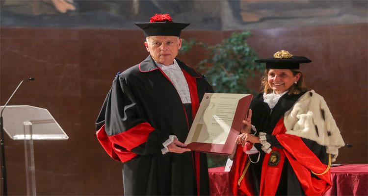 Kais Saied obtient un doctorat Honoris Causa de l'université La Sapienza