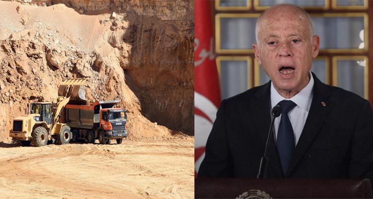 Kais Saied appelle au retour de l'exploitation du phosphate