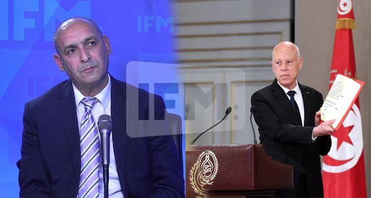 Rabah Khraifi : L'interprétation de la constitution revient au président