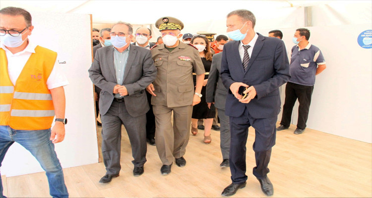 Début d'exploitation de l'hôpital de campagne marocain