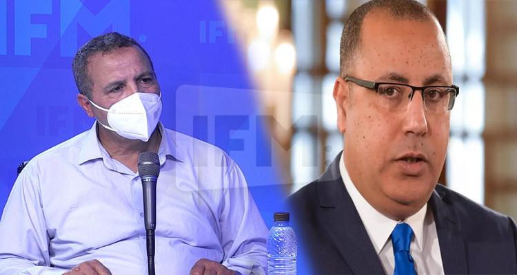Abdellatif Mekki : Rached Ghannouchi a parlé avec Hichem Mechichi