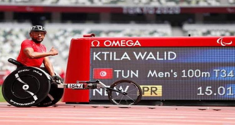 Jeux paralympiques : Walid Ktila médaillé d'or