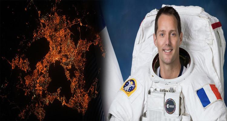 L'astronaute Thomas Pesquet s'interroge sur la couleur orange de Tunis