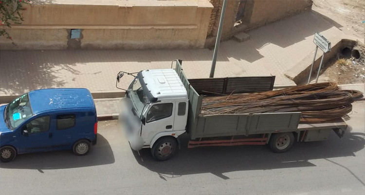 Gafsa : saisie de 10 tonnes de fer