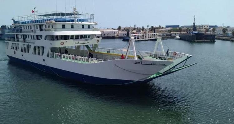 Après quatre ans, le car-ferry Hached reprend du service